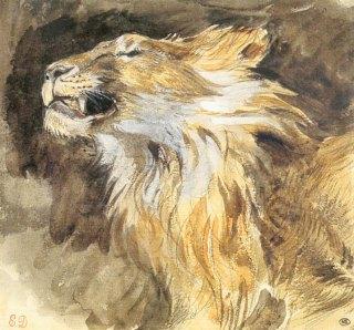 eugene_delacroix-tete-lion-rugissant.1243417196